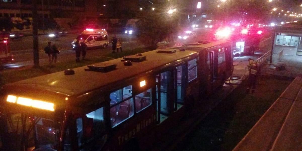 Matan a ladrón que intentó robar en TransMilenio