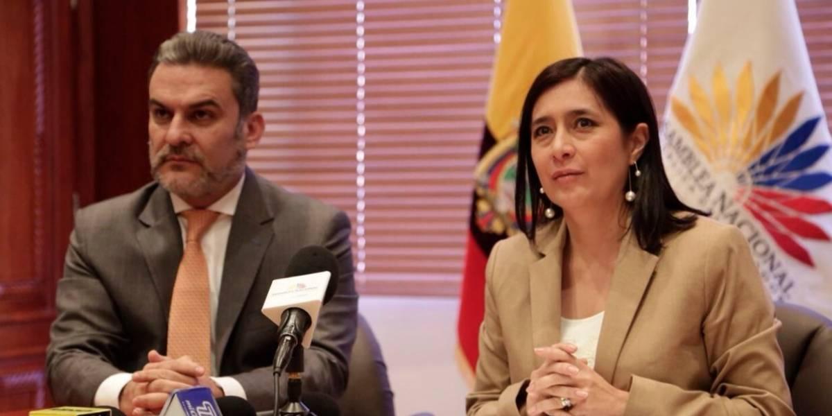 Gobierno envía terna para reemplazar a Jorge Glas en la Vicepresidencia