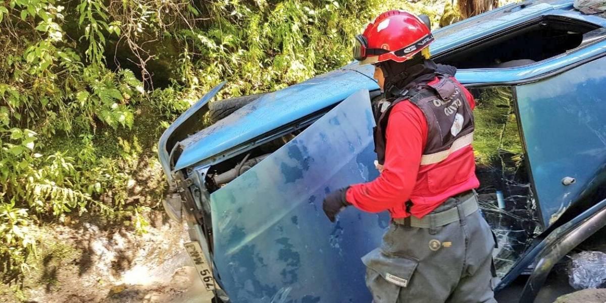 Una niña falleció por un accidente de tránsito en Conocoto