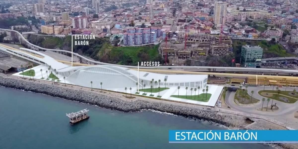Presentan tren de alta velocidad que unirá Santiago y Valparaíso en sólo 45 minutos