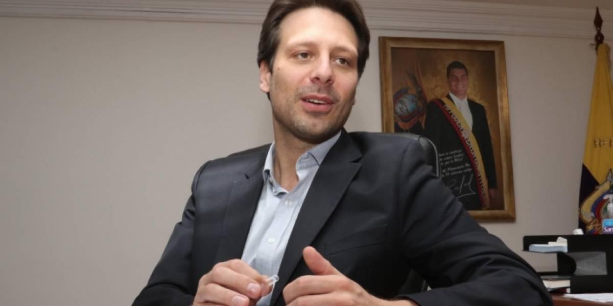Guillaume Long renunció a la representación permanente de Ecuador ante la ONU