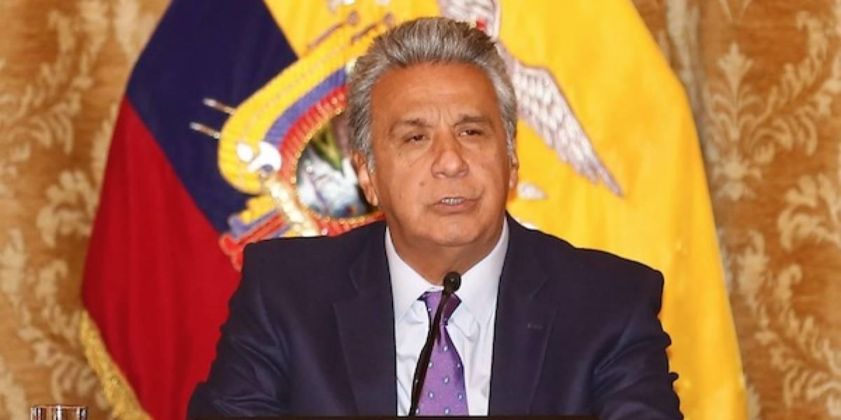 Lenín Moreno se pronunció sobre la terna de candidatas para asumir la Vicepresidencia