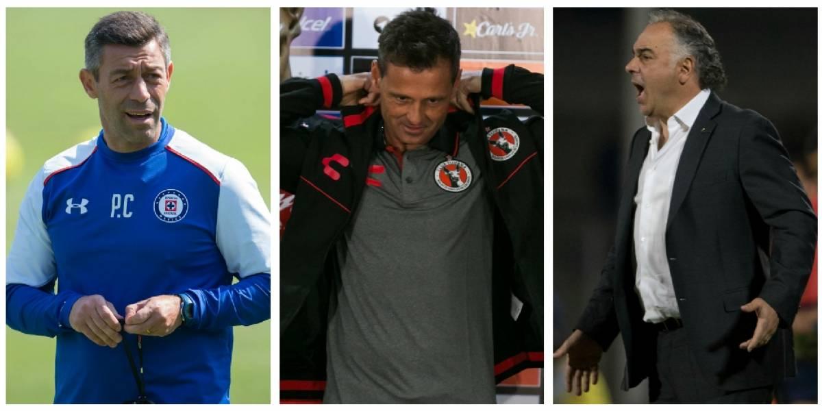 Los entrenadores que regresan a la Liga MX
