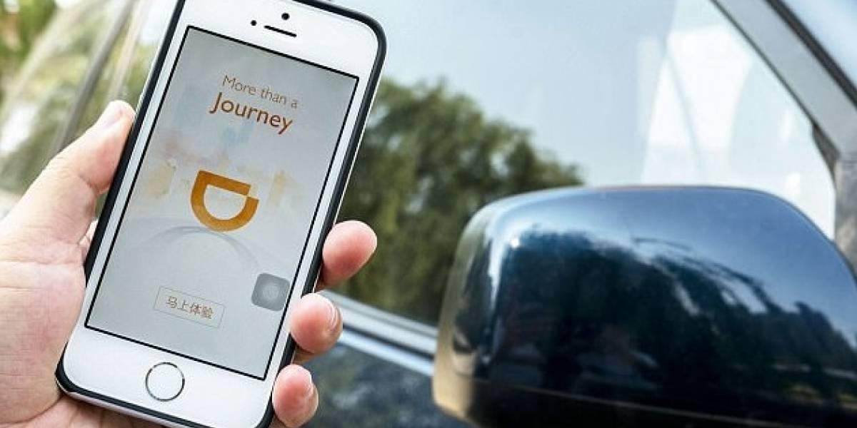 """La ofensiva del """"Uber Chino"""" en Chile: DiDi se reúne con dirigentes de taxistas para presentarles la aplicación"""