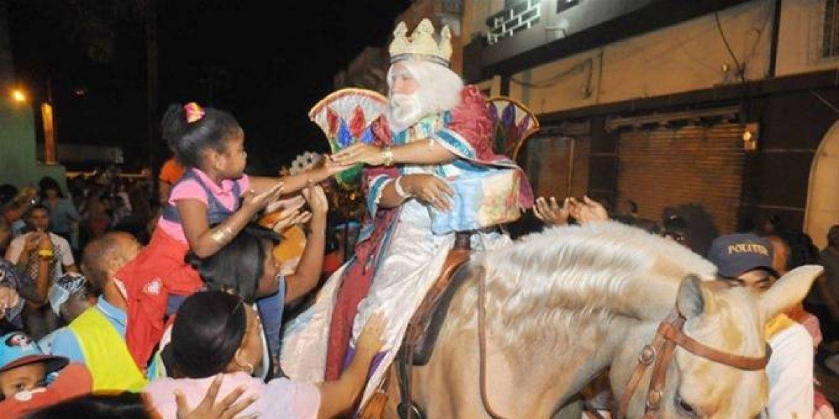 Los Reyes Magos vienen cargados de mágicas fiestas