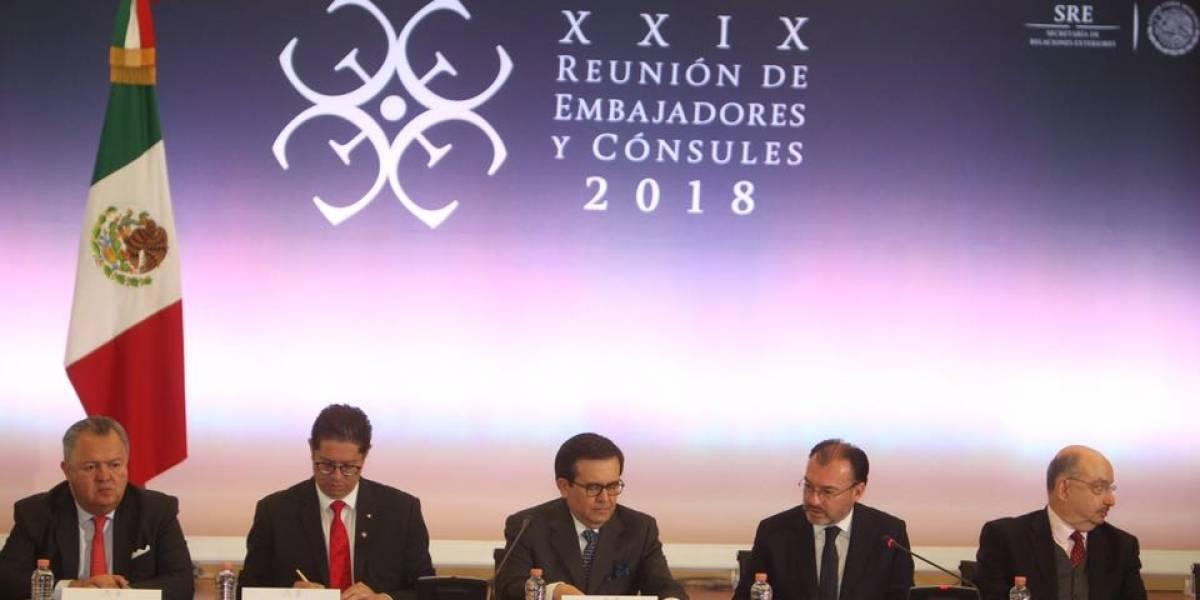 Inicia la XXIX Reunión de Embajadores y Cónsules de México 2018