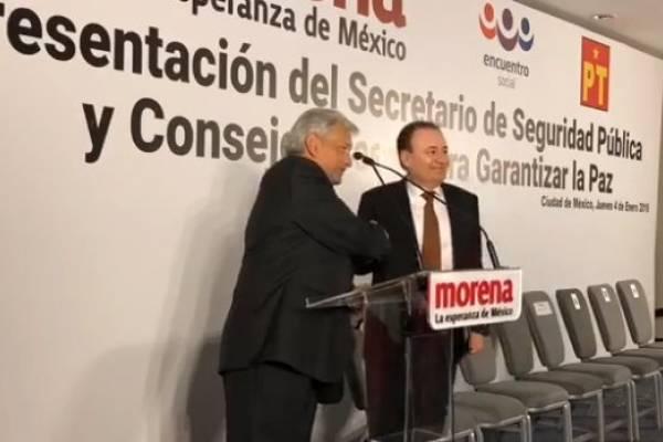 Andrés Manuel López Obrador, Alfonso Durazo
