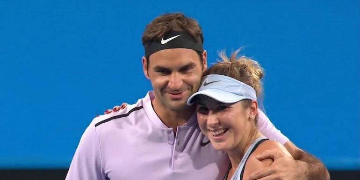 Federer y Bencic llevan a Suiza a la final de la Copa Hopman
