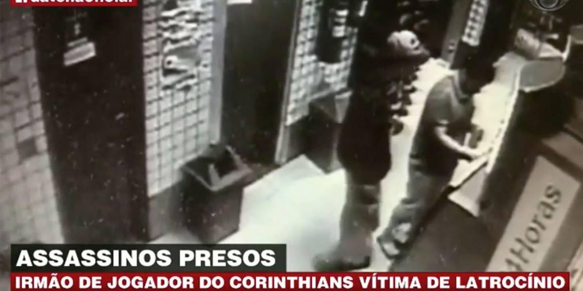 Irmão de jogador do Corinthians é vítima de latrocínio