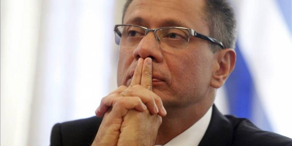Comisión parlamentaria no seguirá con juicio de censura a Jorge Glas