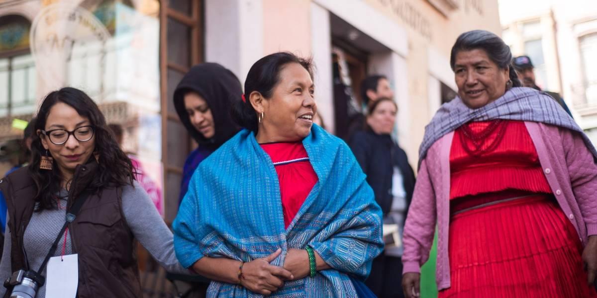 'Marichuy' asegura que construirá un México desde abajo y sin partidos políticos