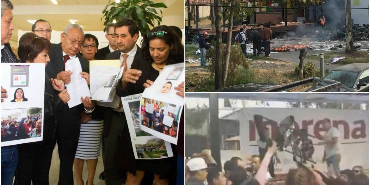 Morena seguirá actos en Coyoacán; PRD pide pacto de civilidad