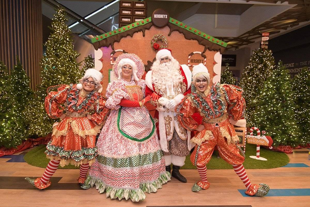 """Make Christmas Wonderful"", en Blue Mall"