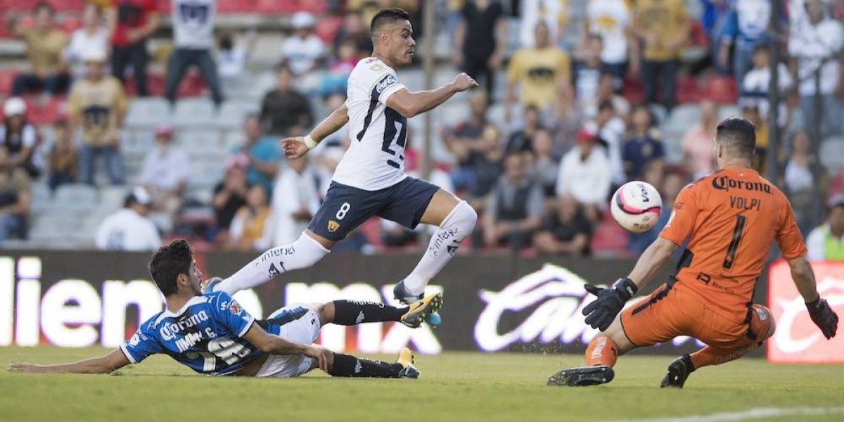 Marcelo Díaz es capitán en el duelo de Pumas ante Pachuca