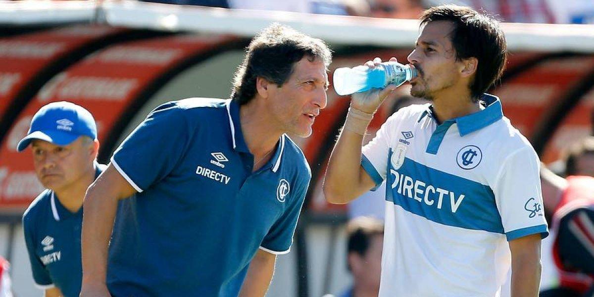 """Carlos Espinosa: """"Me preguntaron si me gustaría volver a trabajar con Mario Salas y yo dije que sí, el resto nada"""""""