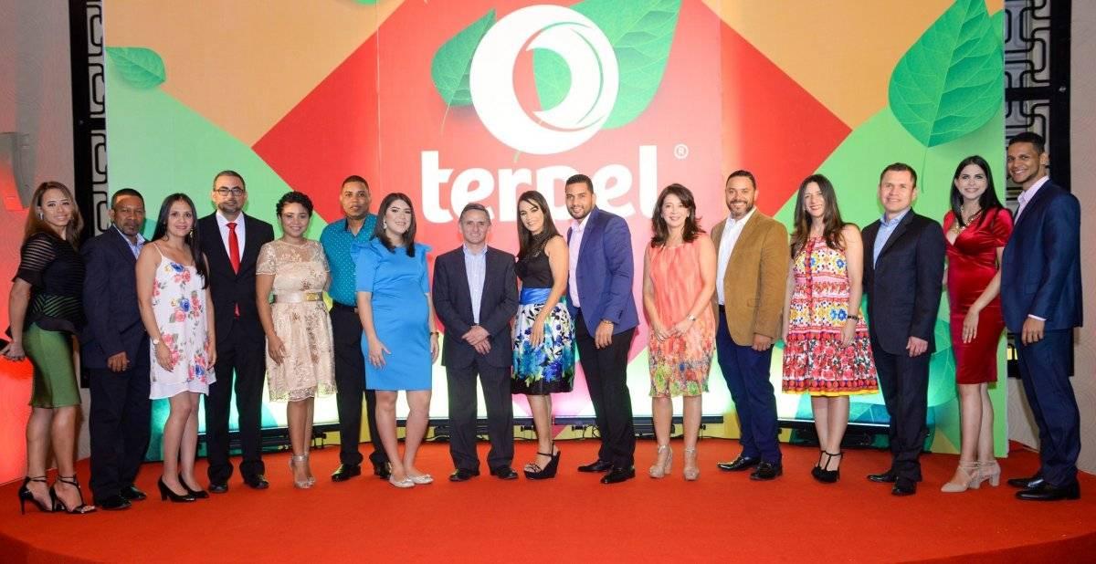 Representantes y ejecutivos durante el encuentro de Terpel en el país.