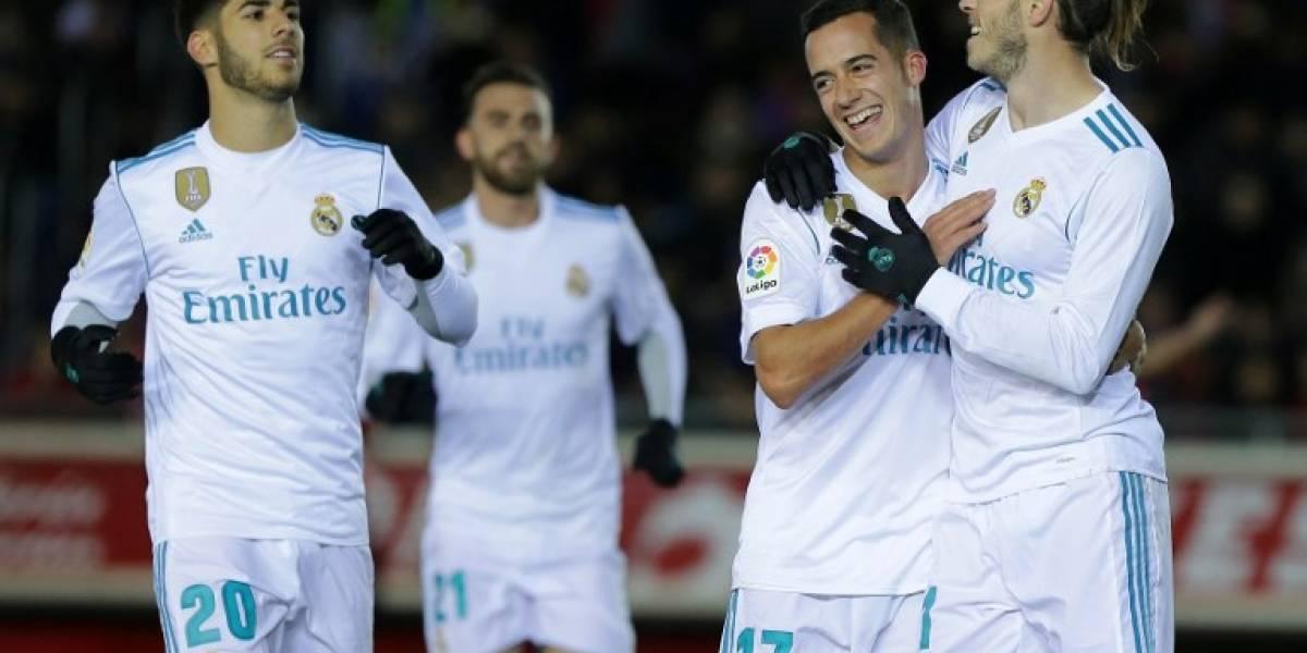 El Madrid golea al Numancia y pone un pie en cuartos de Copa del Rey ...