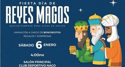 """""""Fiesta de Reyes Magos"""", en el Club Naco"""