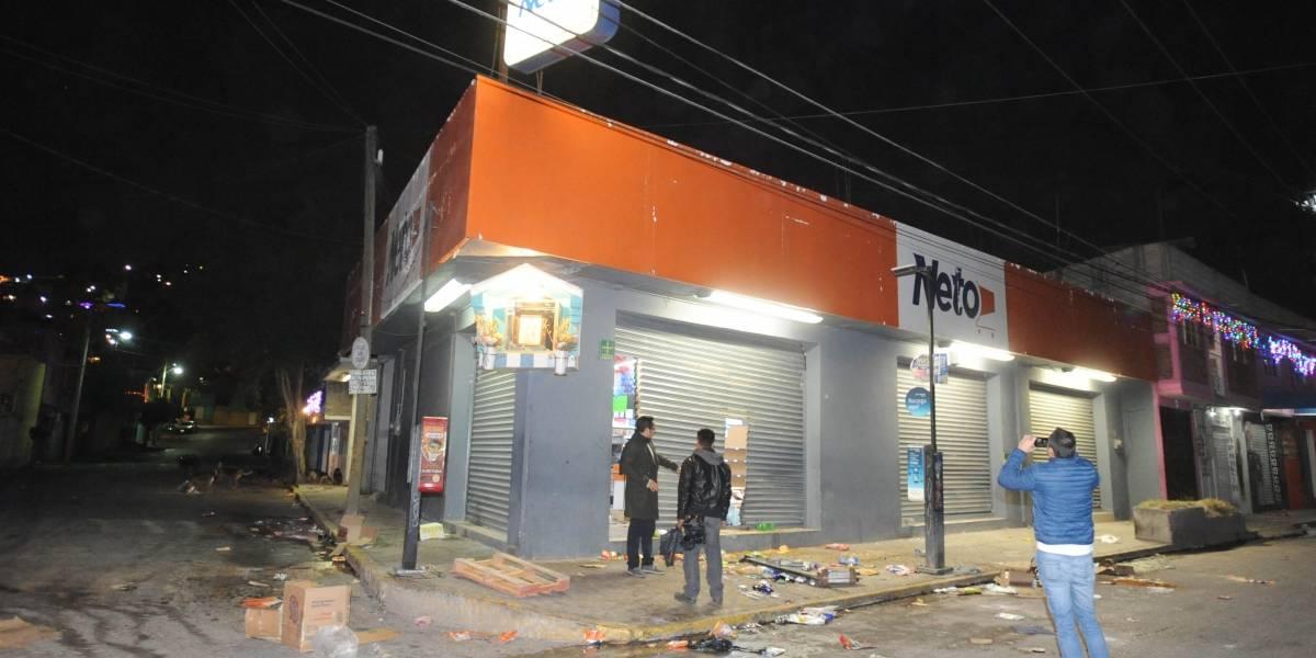 Fotos: Saquean diversas tiendas en Ecatepec
