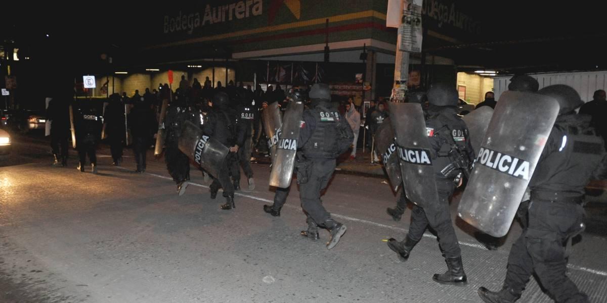 Van a penal mexiquense 10 de los 113 detenidos por saqueos en Ecatepec