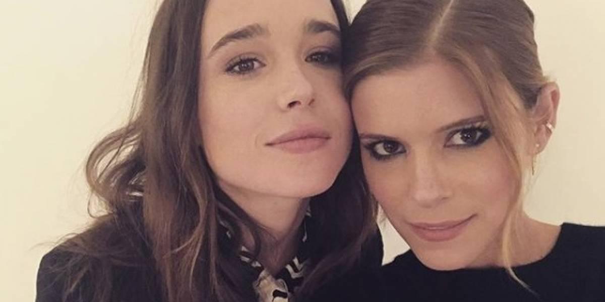 Actriz de Juno, Ellen Page, se casa con su novia Emma Portner