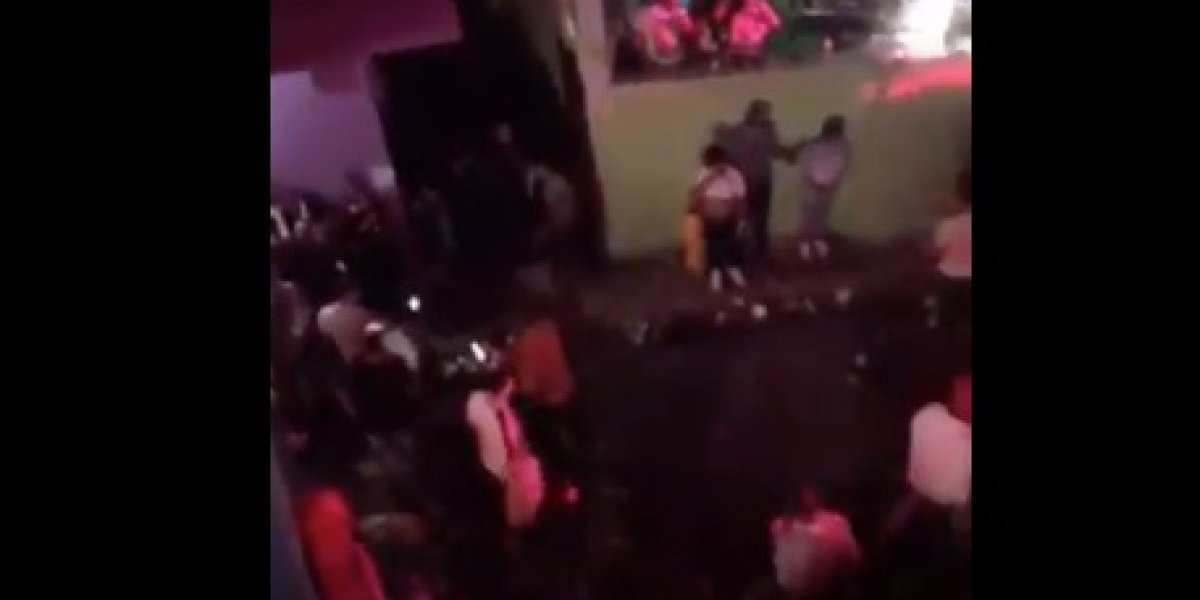 Viral video de supuesto tiroteo en 'party' de La Perla