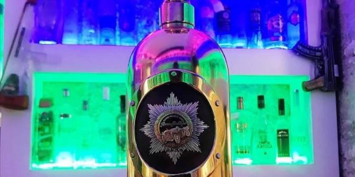 Hallan vacía la botella de vodka robada de 1,1 millón de euros
