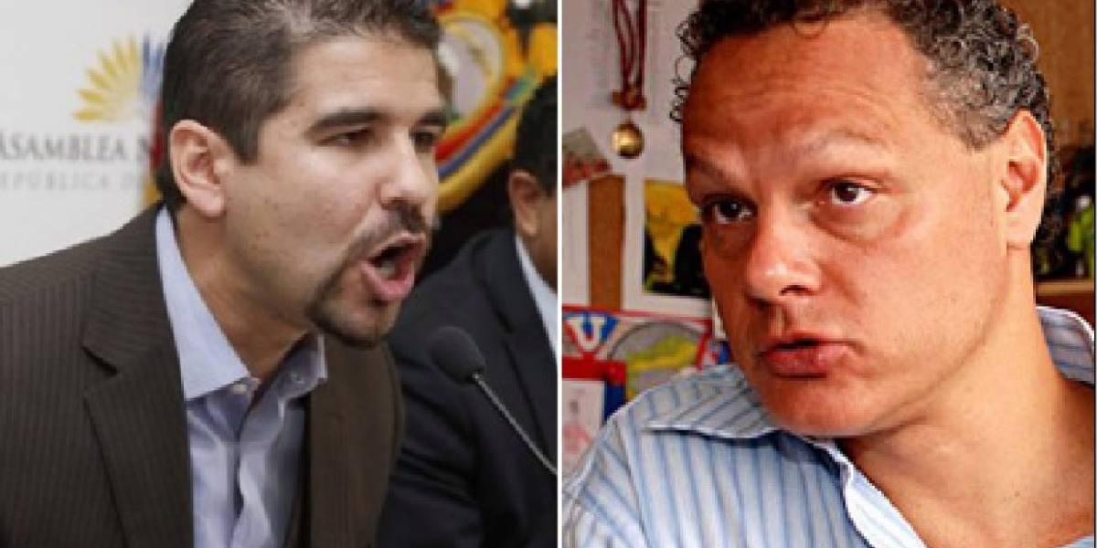 Dalo Bucaram y Esteban Paz, calientes en Twitter