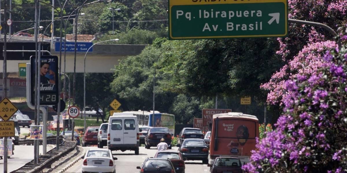 Com greve no Metrô, SP tem recorde de congestionamento