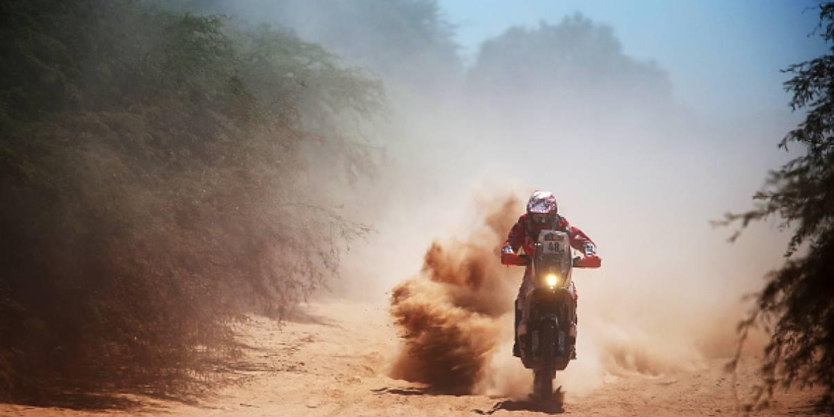 Ignacio Cornejo se unió a un selecto grupo de pilotos chilenos en el Rally Dakar