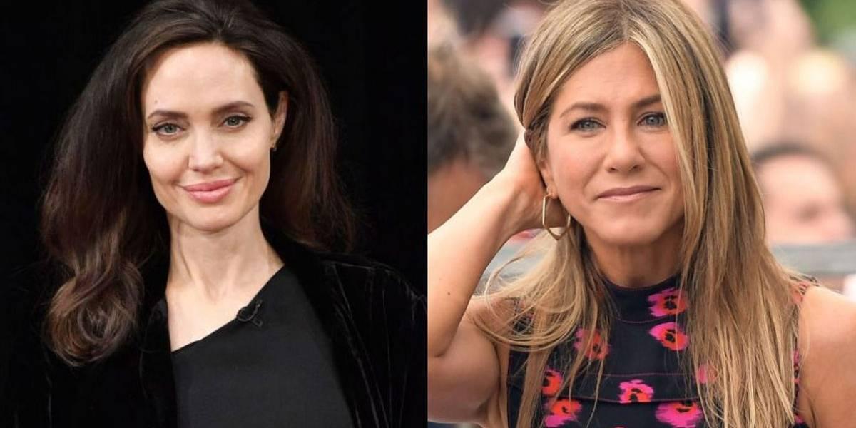 Angelina Jolie fica furiosa ao saber que Jennifer Aniston teve contato com seus filhos