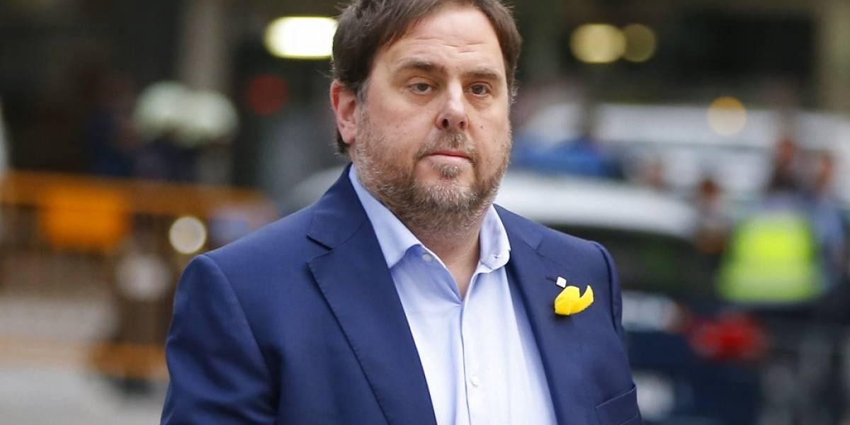 Tribunal Supremo español niega la libertad a ex vicepresidente catalán