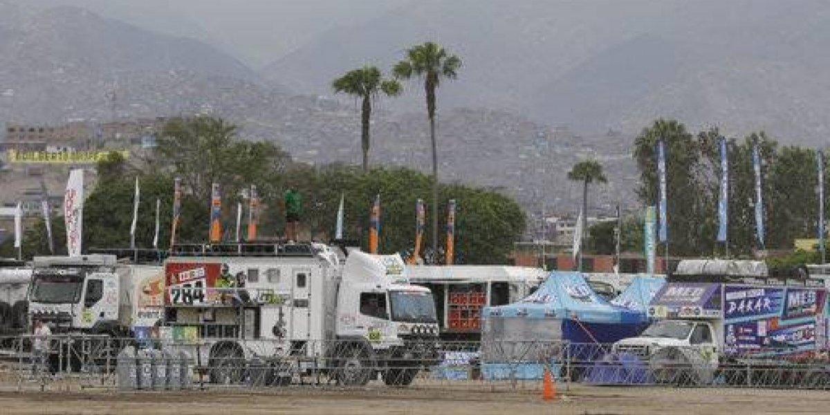 La atiborrada Lima tomó color en la previa de la largada del Dakar