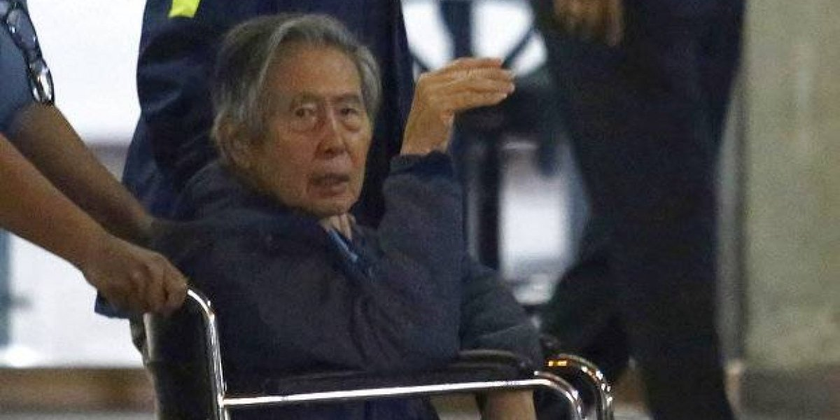Fujimori fue dado de alta a doce días de su polémico indulto