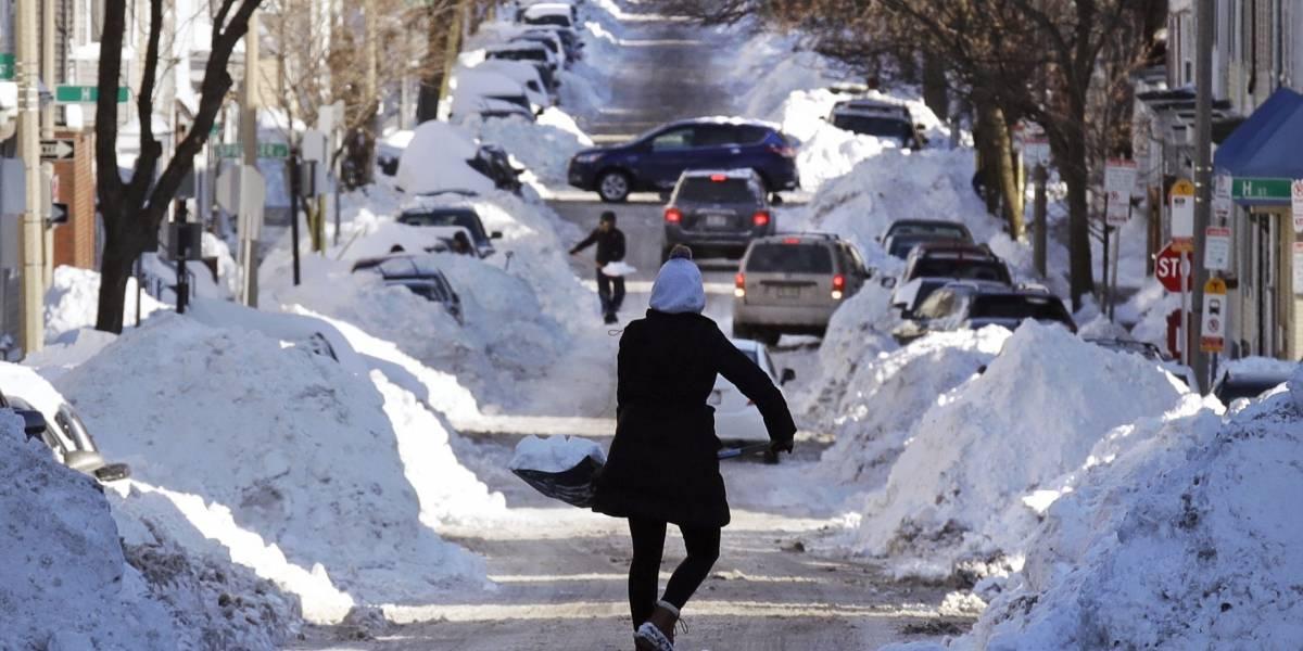 EEUU: Ciclón bomba avanza en la costa este con temperaturas bajo cero