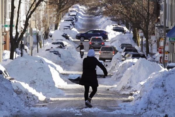 Frío y nieve, Estados Unidos