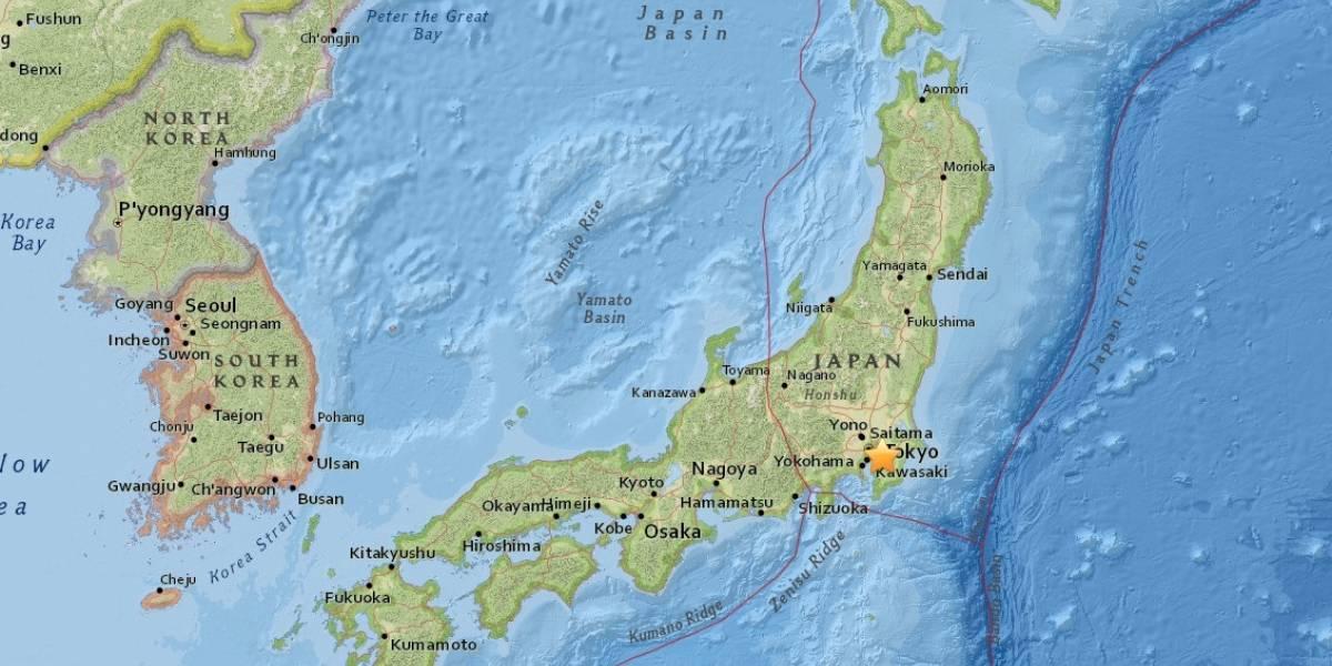Sismo magnitud 4.9 sacude el centro de Japón