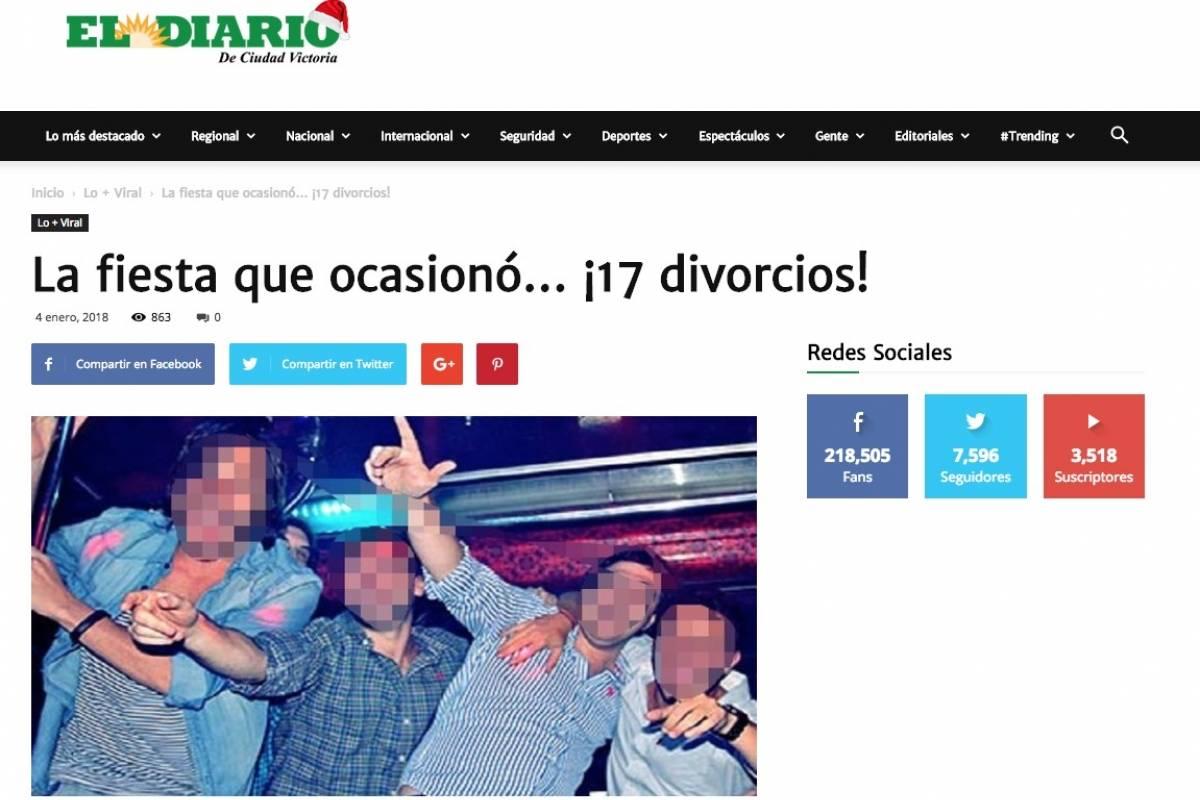 """Foto: """"El Diario de Ciudad Victoria"""""""