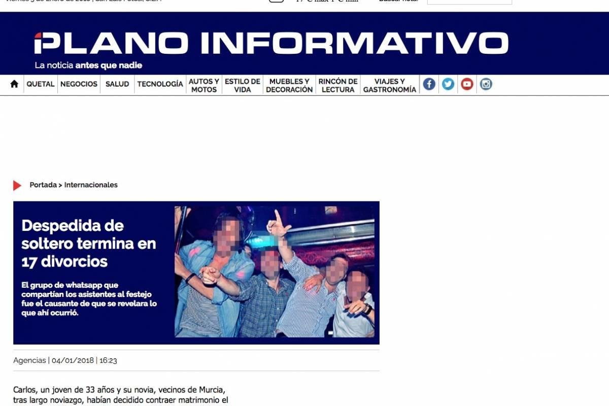 Foto: Plano Informativo