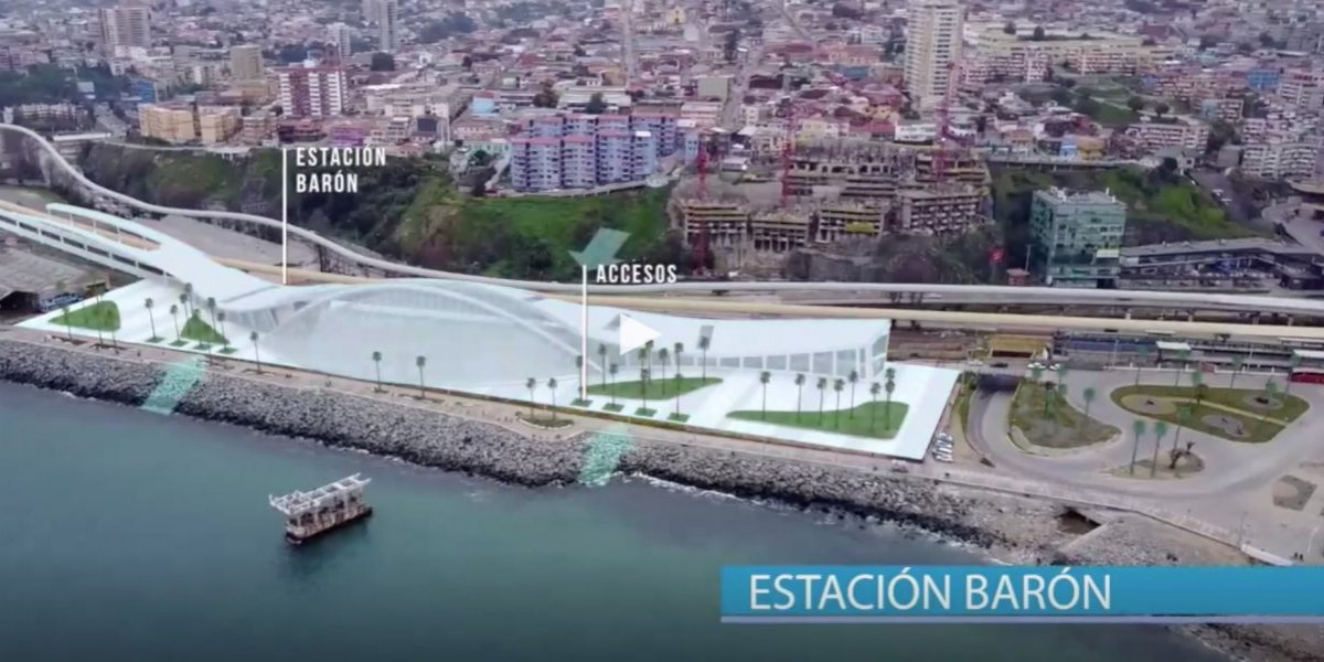 """Estos son los números del """"tren rápido"""" que uniría Valparaíso con Santiago en 45 minutos"""