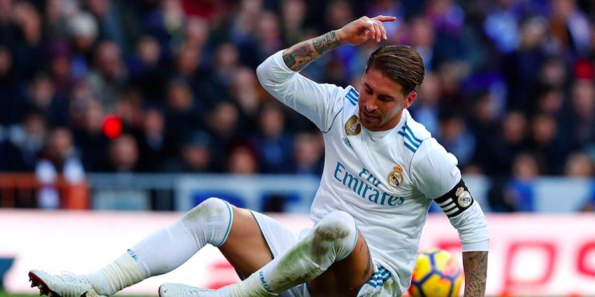Sergio Ramos causa baja con el Real Madrid