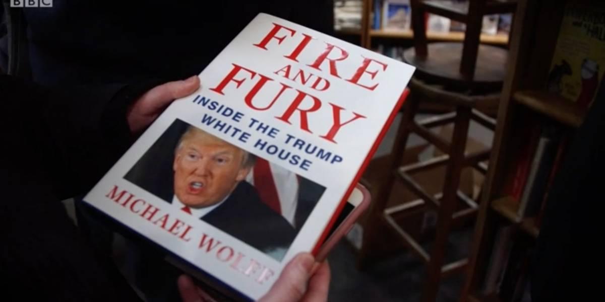 """""""Make America Read Again"""": ¿Dónde se puede comprar el libro contra Trump """"Fuego y Furia""""?"""
