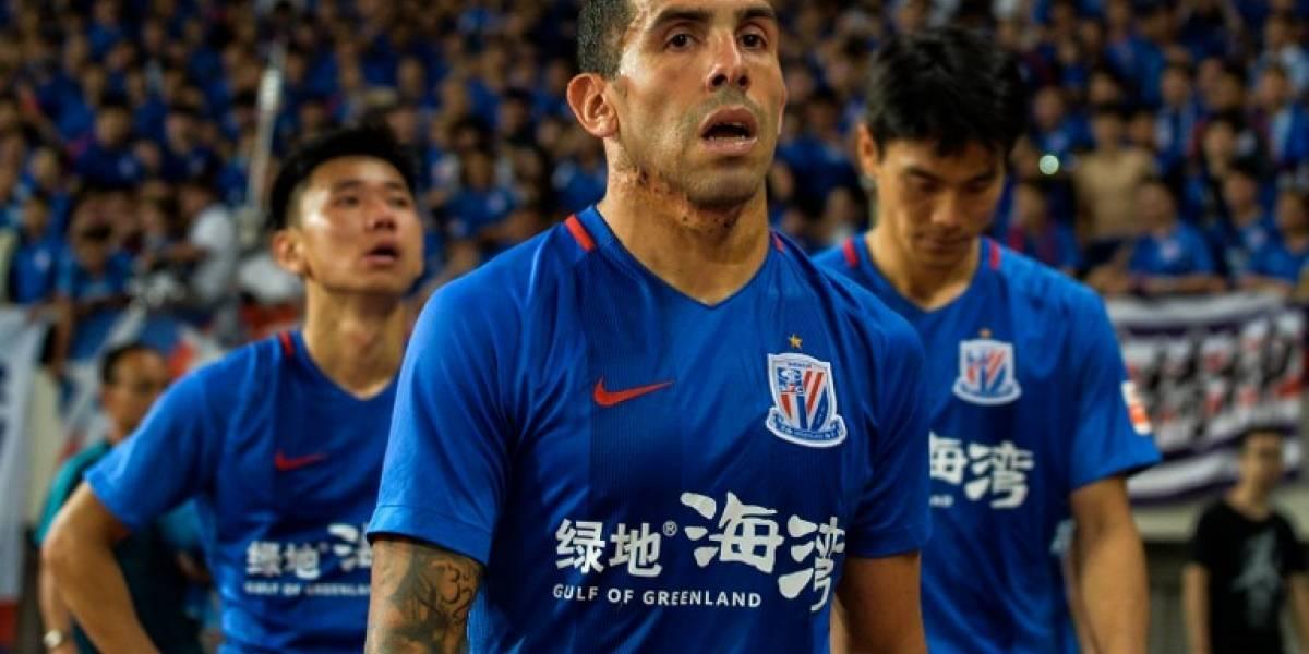 Tévez deja el fútbol chino para regresar al equipo de sus amores