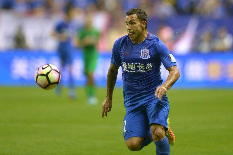Carlos Tévez en China