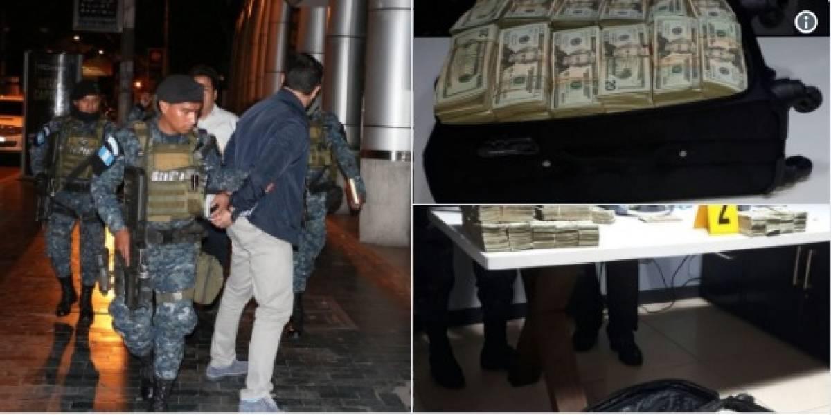 """Dinero incautado en Aeropuerto """"La Aurora"""" pasa a poder del Estado"""