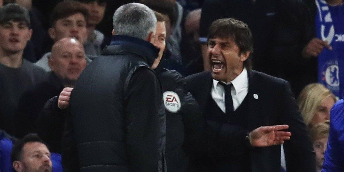 Conte insinúa que Mourinho tiene demencia senil