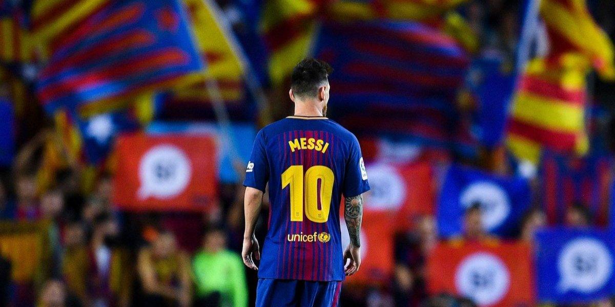 Messi se iría del Barça por independencia de Cataluña