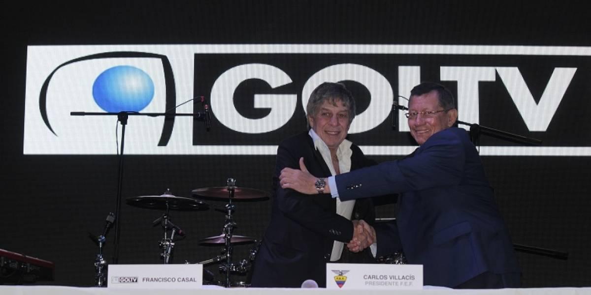 Se suspendió el contrato entre FEF y GOL TV