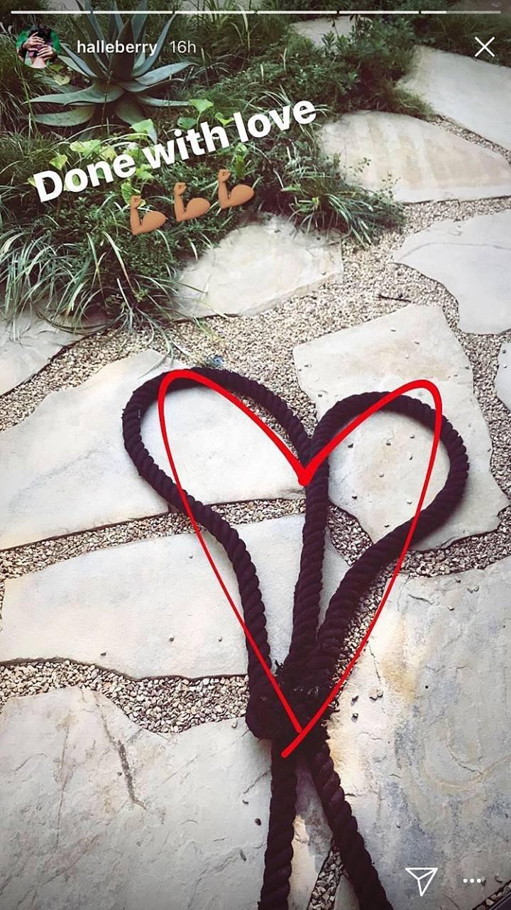 Halle Berry renuncia al amor