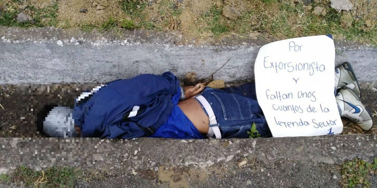 Guatemala es el departamento con mayor índice de violencia homicida